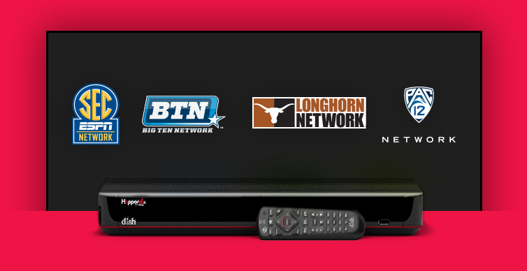 DISH College Sports TV Packages - RED BLUFF, California - CHAGO'S SATELLITE - DISH Authorized Retailer